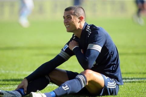 C. Ronaldo patyrė traumą