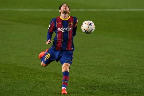 PSG užuomina reiškia L. Messi atvykimą?