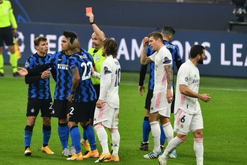 """""""Real"""" dar kartą susitvarkė su """"Inter"""", """"Atalanta"""" tėškė antausį """"Liverpool"""" ekipai"""