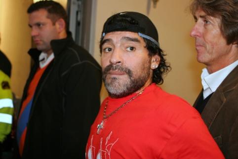 Internete – paskutinis vaizdo įrašas su dar gyvu D. Maradona