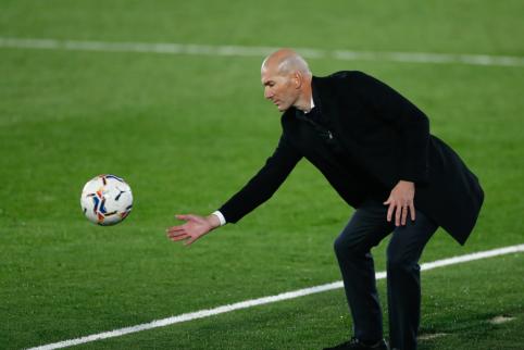 Z. Zidane'as pakomentavo pasirodžiusius gandus apie savo išvykimą