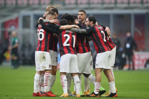 """""""AC Milan"""" iškovojo dar vieną pergalę Italijoje"""
