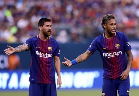 Neymaras prakalbo apie norą vėl suvienyti jėgas su L. Messi