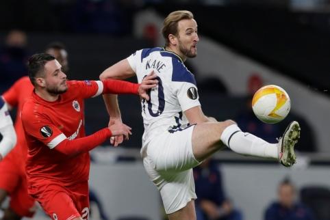 Anglijos klubai užtikrintai žengė į kitą Europos lygos etapą