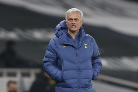 """J. Mourinho panoro už dyką gauti """"Real"""" žaidėją"""