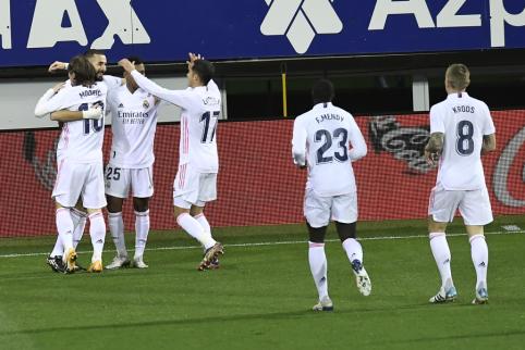 """Ispanijoje – ketvirtoji iš eilės """"Real"""" pergalė"""