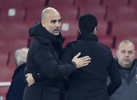 """P. Guardiola: """"Artetos atleidimas būtų milžiniška klaida"""""""