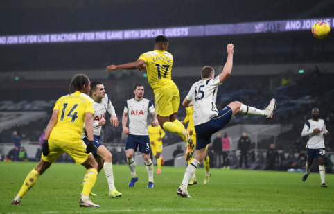 """Tottenham"" nesugebėjo palaužti ""Fulham"""