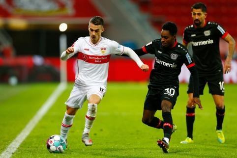 """""""Bundesliga"""": """"Bayer"""" sutriuškino varžovus, BVB dar kartą suklupo"""