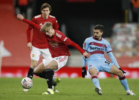 """McTominay'aus įvartis išvedė """"Man Utd"""" į FA taurės ketvirtfinalį"""