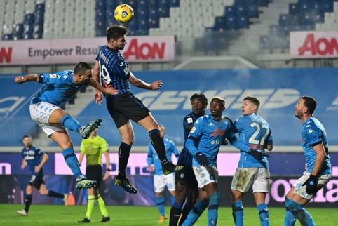 """""""Atalanta"""" užtikrintai žengė į Italijos taurės finalą"""