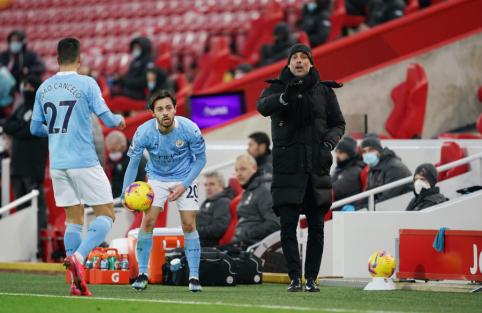 "J. Guardiola: ""Man Utd"" vis dar gali triumfuoti ""Premier"" lygoje"