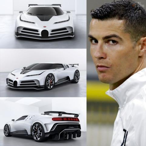 """C. Ronaldo užsisakė 8 mln. eurų vertės """"Bugatti Centodieci"""" automobilį"""
