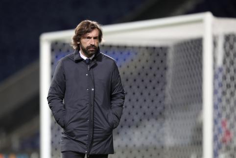 Paskutinis šansas A. Pirlo: vadovybė nusprendė, kada atleistų trenerį