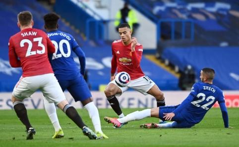 """""""Chelsea"""" ir """"Man Utd"""" mačas baigėsi be įvarčių"""