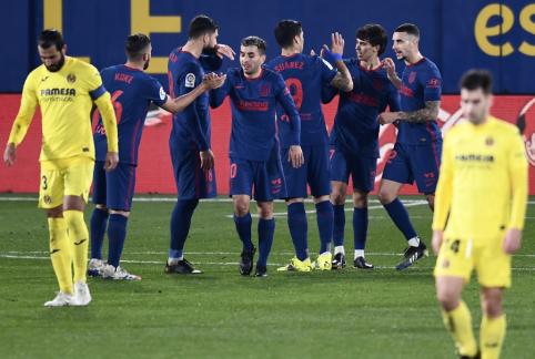 """""""Atletico"""" sugrįžo į pergalių kelią Ispanijoje"""