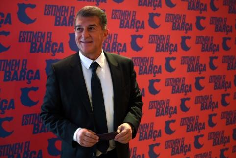 """Laimėjęs J. Laporta į """"Barcą"""" kviestų Argentinos žvaigždę"""