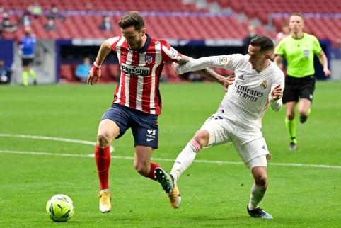 Kovingame Madrido derbyje – lygiosios