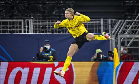 """""""Borussia"""" sulaukė E. Haalando ultimatumo"""