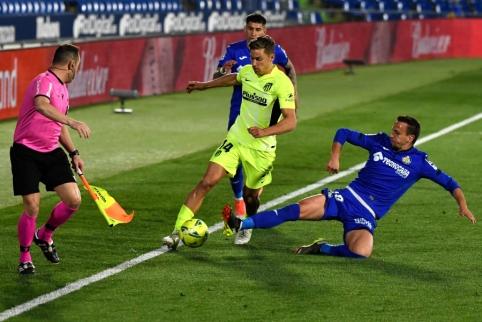 """Intriga Ispanijoje auga: """"Atletico"""" prarado dar du taškus"""