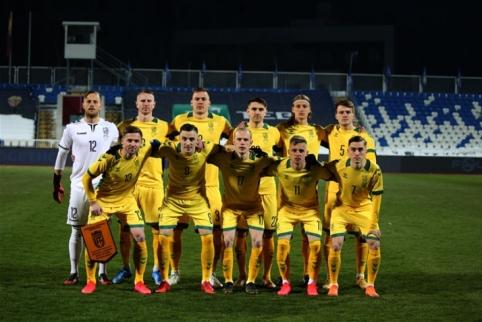 Kosovo futbolininkai pervažiavo Lietuvos rinktinę