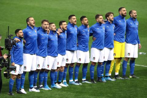 Fantastiška Italijos gynyba: pasiekime minima ir Lietuvos rinktinė