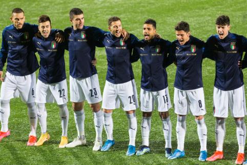 Italijos rinktinės žaidėjai paskiepyti nuo koronaviruso