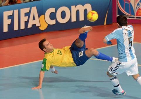 Futsal: pusfinalyje sulauksime įspūdingo Pietų Amerikos gigantų derbio