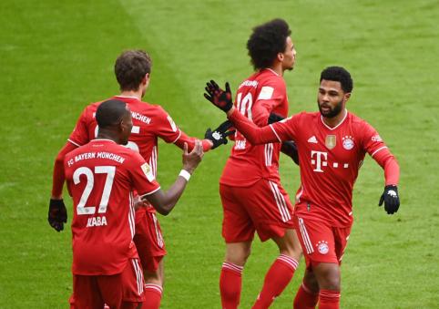 """Bayern"" prarado S. Gnabry"