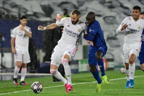 """""""Chelsea"""" iš Madrido parsiveža lygiąsias"""