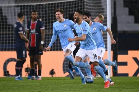 """""""Man City"""" žengė tvirtą žingsnį Čempionų lygos finalo link"""