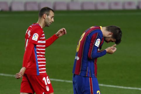 """Granada"" palaužė ""Barcelona"" ekipą"