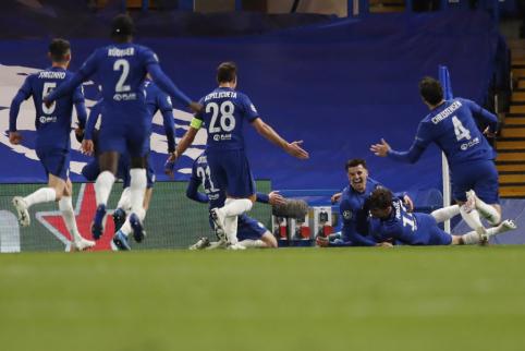 """Chelsea"" žengė į Čempionų lygos finalą"