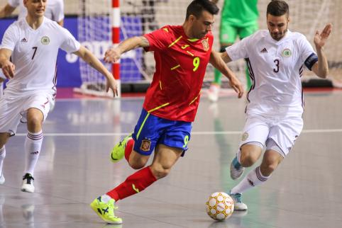Trečioji Futsal čempionato diena: ką pademonstruos ispanai?