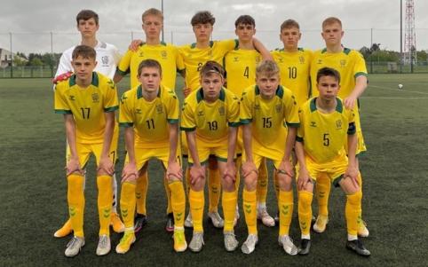 Rusai nepasigailėjo Lietuvos U–16 rinktinės
