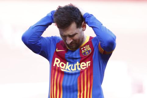 """La Liga"" vadovas: ""Barcelona"" neišgalės L. Messi mokėti buvusio atlyginimo"