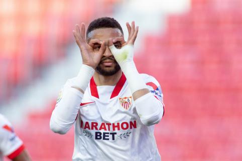 """""""La Liga"""": """"Sevilla"""" įveikė """"Valencia"""""""