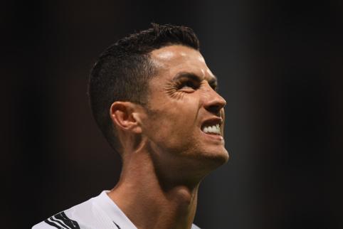"""C. Ronaldo apsisprendė dėl savo ateities """"Juventus"""" klube"""