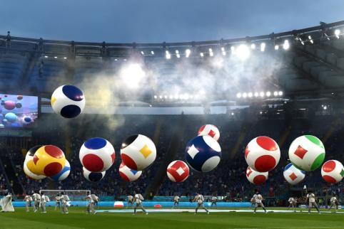 Antroji EURO 2020 diena: skandinavų mūšis ir A. Dzyuba prieš R. Lukaku