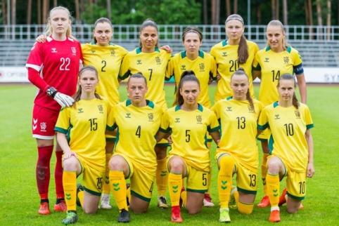 Lietuvės triumfavo Baltijos taurės turnyre