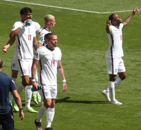 Anglija minimaliu pranašumu laimėjo prieš Kroatiją