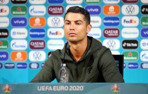 C. Ronaldo poelgis nemaloniai nustebino UEFA