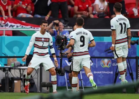 Devintoji EURO 2020 diena: portugalų ir vokiečių akistata bei netikėti autsaideriai E grupėje