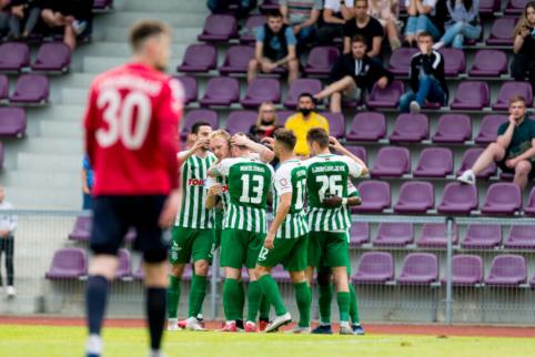 """""""Žalgiris"""" žengė į kitą LFF taurės etapą"""