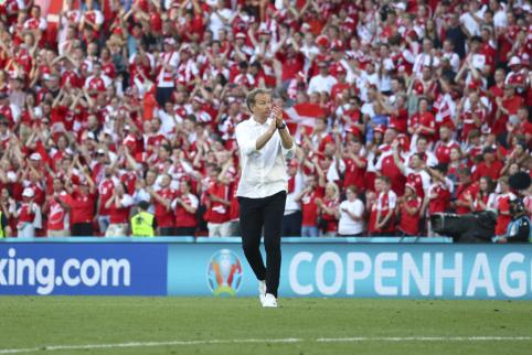 K. Hjulmandas: šis čempionatas mums dar nesibaigė - mes nugalėsime rusus
