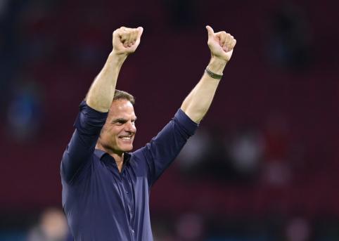 F. de Boeras: būdami geriausios formos galime nugalėti bet kurią komandą