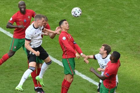 Įvarčių fiestoje Vokietija įveikė Portugaliją