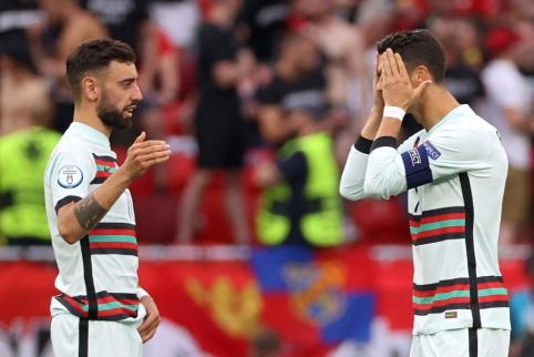 """J. Mourinho: """"Portugalai gali įveikti bet ką"""""""