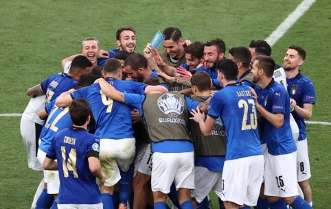 Italija sutiko naujuosius šalies didvyrius