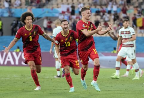 Europa turės naujus čempionus: belgai užbaigė portugalų titulo gynybą
